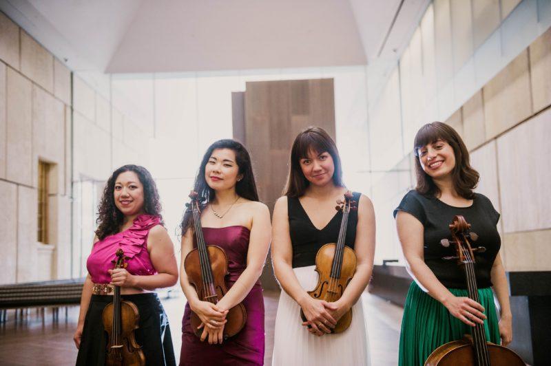 Il Morellino Classica Festival fa tappa al convento del Petreto: concerto dell'Aizuri String Quartet