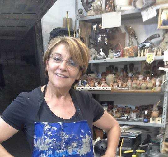 """""""Invito al Borgo"""": mostra di ceramica ad Arti in corso"""