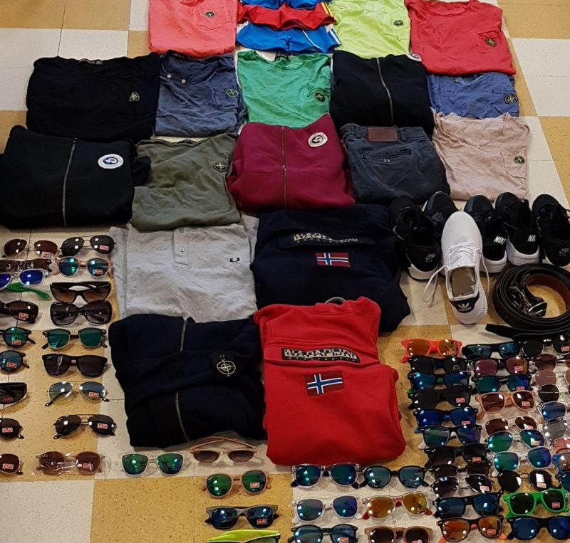 Abusivismo commerciale, controlli a tappeto della Finanza: sequestrati circa 650 prodotti contraffatti