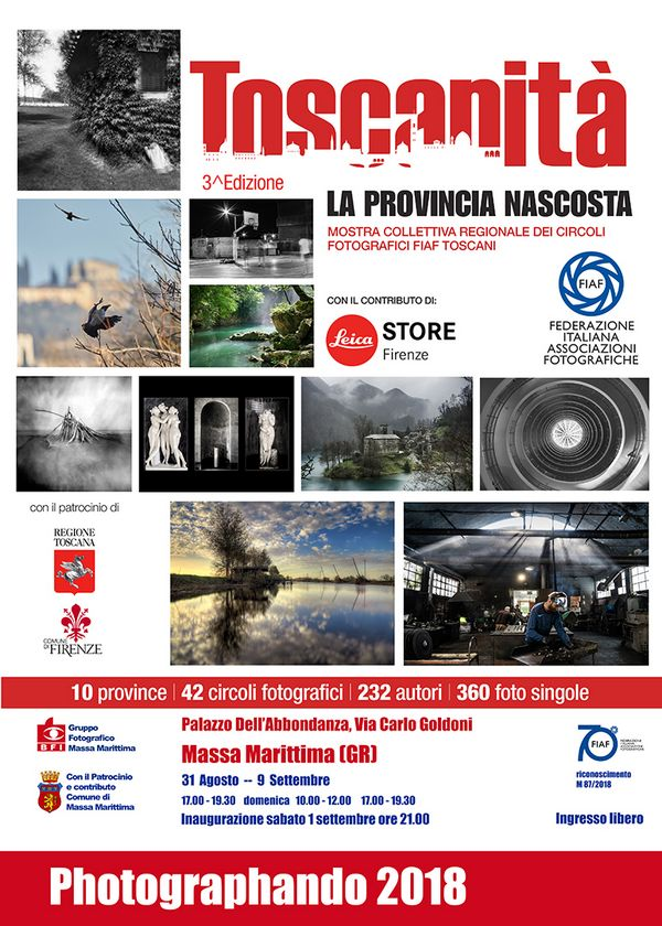 Al via Photographando 2018 a Massa Marittima