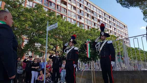 Grosseto rende omaggio a Salvo D'Acquisto: un piazzale intitolato al Carabiniere