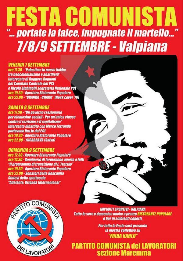 A Valpiana torna la festa del Partito Comunista dei Lavoratori