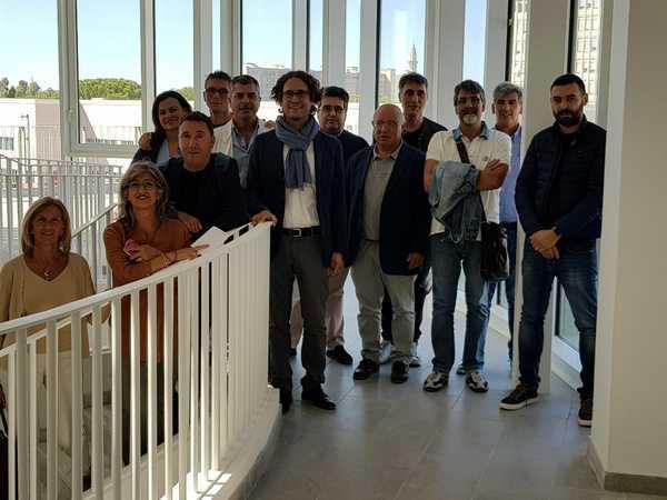 Ospedale Misecordia: i sindacati in visita alla nuova ala della struttura