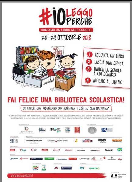 #ioleggoperché: anche a Grosseto l'iniziativa per donare libri alle scuole