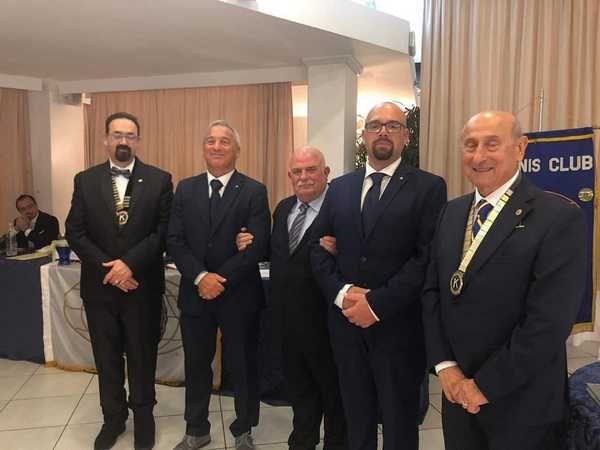 Passaggio della campana al Kiwanis: Marco Bruni è il nuovo presidente
