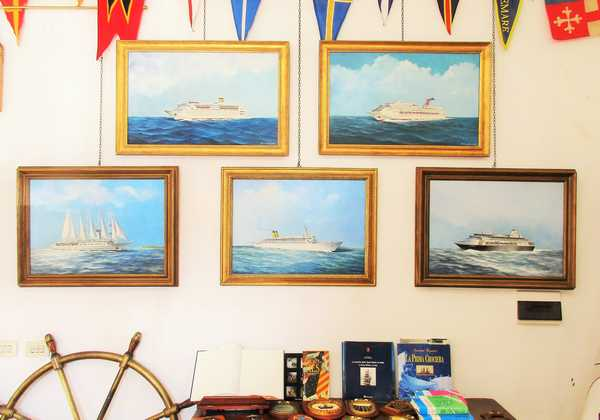 """""""Navi da crociera all'Argentario"""": prosegue la mostra alla galleria Artemare"""
