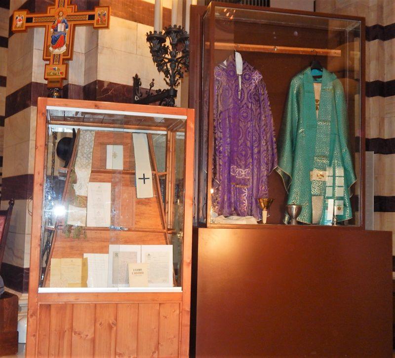 Le reliquie di Paolo VI sono arrivate a Grosseto: saranno esposte in Cattedrale