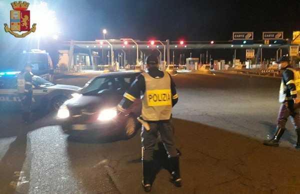 Controlli della Polizia stradale: sequestrata auto a grossetano positivo alla marijuana