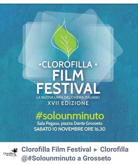 Clorofilla e #Solounminuto insieme: in sala Pegaso la proiezione dei corti della rassegna