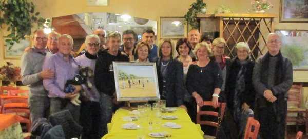 L'arte festeggia i quattro anni dei nordic walker dell'Argentario