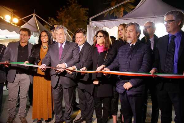 Inaugurato Gustatus: presente anche il presidente del Parlamento europeo Tajani