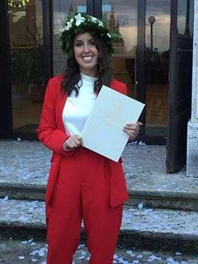 Photo of Orbetello ha una nuova dottoressa: Beatrice Simoni si laurea in strategie e tecniche della comunicazione