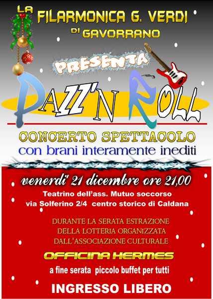 """Photo of """"Pazz'n Roll"""": concerto di Natale della Filarmonica """"Giuseppe Verdi"""""""
