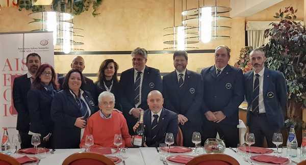 Un brindisi per Giancarlo Bini: l'Ais di Grosseto celebra il suo storico fondatore