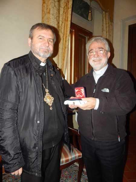 Photo of Dall'Ucraina a Grosseto: monsignor Cetoloni riceve il vescovo eparchita