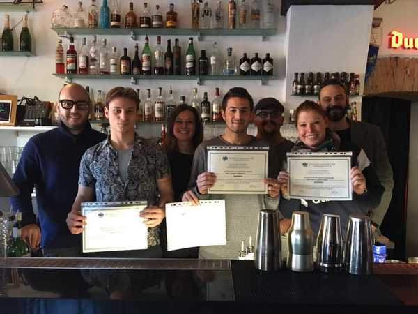 Cinque nuovi barman: concluso il corso targato Confcommercio