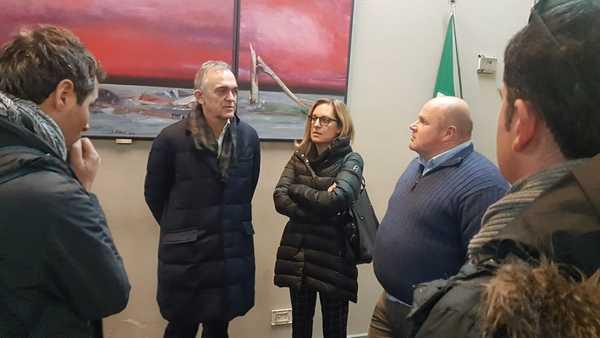 """Erosione, sopralluogo di Rossi in Maremma: """"Sanare al più presto le ferite di ottobre, poi guardiamo al futuro"""""""