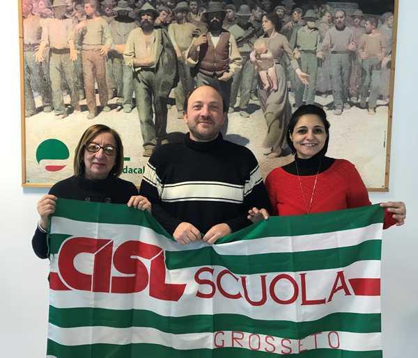 Cisl scuola, la struttura di Grosseto torna indipendente: Alfonso Nocchi segretario