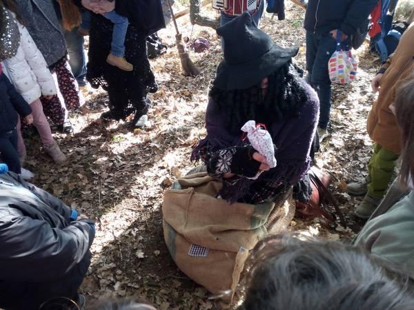 La Befana è atterrata anche agli scavi di Roselle
