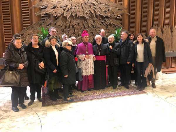 Photo of Da Roselle a San Pietro per festeggiare monsignor El-Kassis: è stato nominato nunzio apostolico in Pakistan