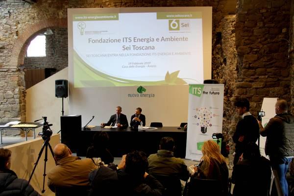 Sei Toscana entra nella Fondazione ITS Energia Ambiente