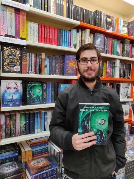 """""""Quasi una fantasia"""": Alexander Powell presenta il suo nuovo libro"""