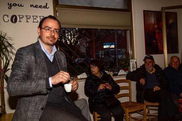"""""""Un caffè con il sindaco"""": Andrea Benini incontra i cittadini del centro"""