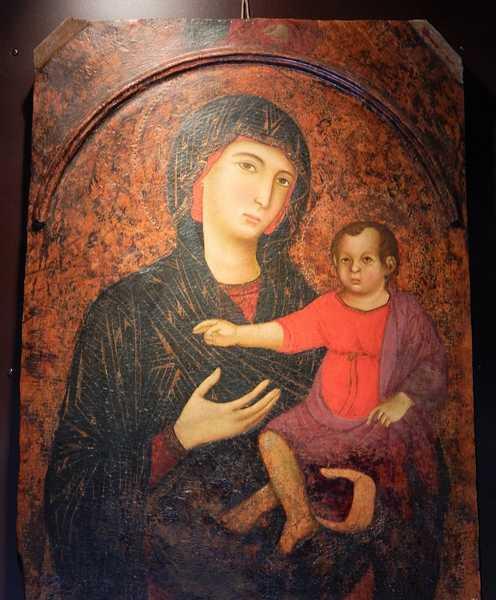 """""""ArtetraNoi"""": la """"Madonna col Bambino"""" del santuario di Campagnatico esposta in duomo"""