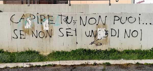 """Scritte sui muri, Grosseto al Centro: """"I responsabili devono ripulire la città"""""""