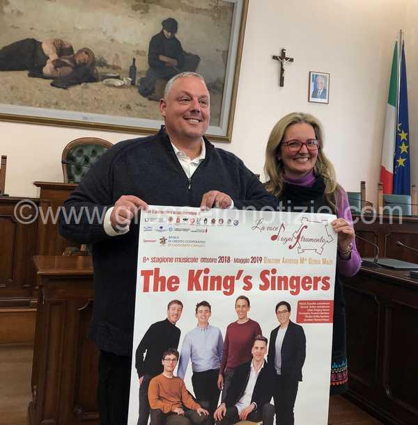 Musica e solidarietà: al Teatro Moderno l'unico concerto in Italia dei King's Singers