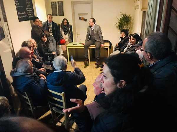 """""""Un caffè con il sindaco"""": Andrea Benini incontra i residenti di Pratoranieri"""