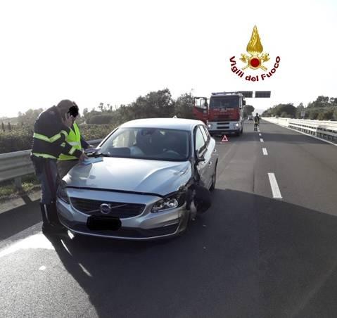 Auto contromano dall'uscita per Gavorrano: incidente sull'Aurelia