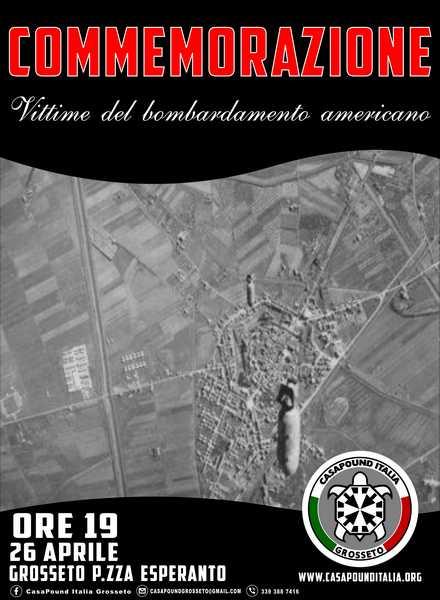 Photo of CasaPound ricorda le vittime del bombardamento di Pasquetta: cerimonia in piazza Esperanto
