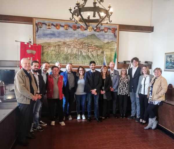 Verso le amministrative, Jacopo Marini presenta la sua squadra: tutti i candidati