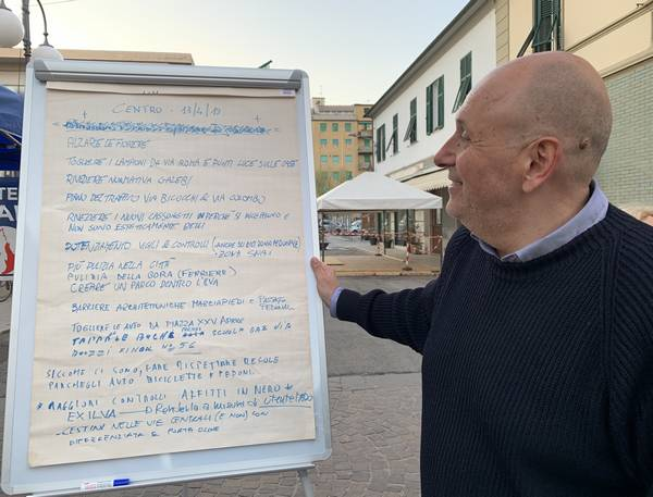 """Piano del traffico, arredo urbano, sicurezza, decoro, Di Giacinto: """"Ecco le mie priorità per il centro"""""""