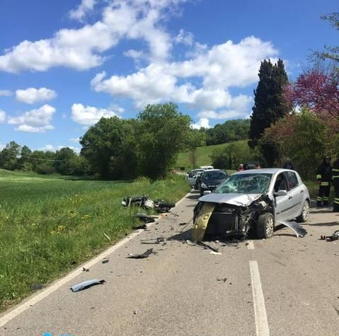 Incidente sulla strada dello Sgrillozzo: muore motociclista