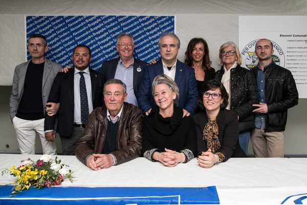Verso le amministrative: Alessandro Bragaglia presenta la sua squadra ai cittadini