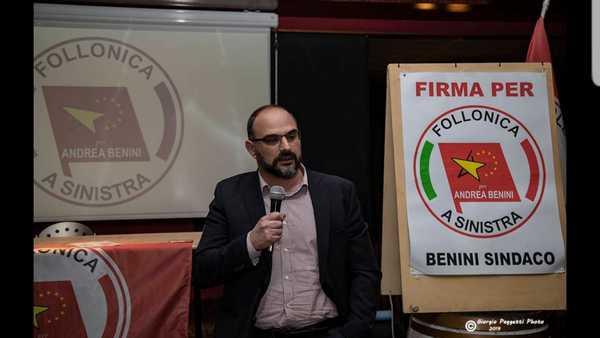 """Photo of Calossi: """"Essere uno dei pochi consiglieri di sinistra in Maremma è una grande responsabilità"""""""