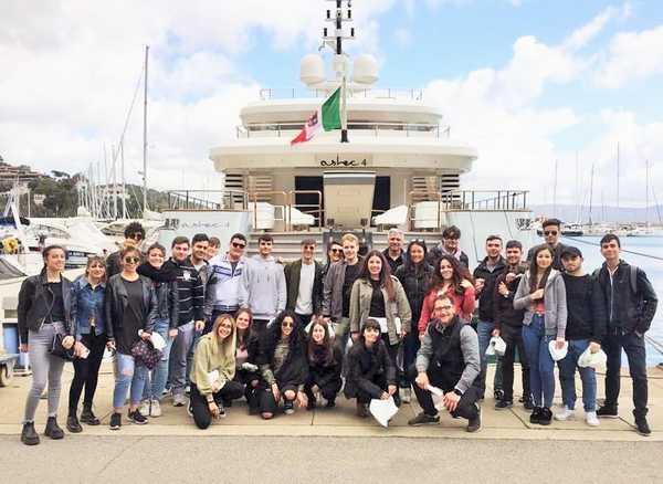 Chef management di bordo: concluso il corso con gli studenti dell'Alberghiero