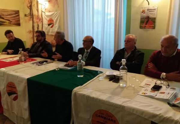 Verso le amministrative, Mario Gambassi presenta la sua squadra: tutti i candidati
