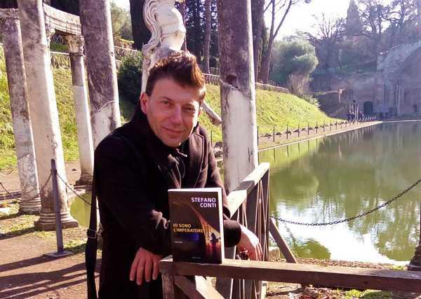 """""""Io sono l'imperatore"""": Stefano Conti presenta il suo ultimo romanzo"""