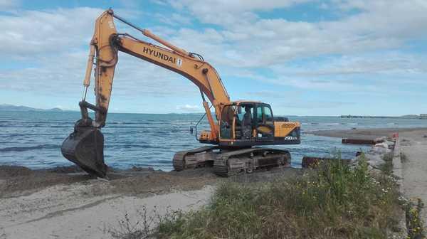 """Ripascimento spiaggia, al via i lavori: """"Intervento in anticipo, rispettati accordi con operatori"""""""