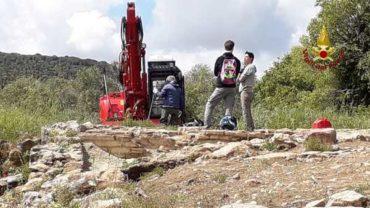 Scavi nel paro archeologico: i Vigili del Fuoco collaborano con l'Università