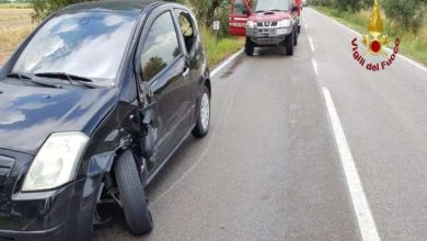 Photo of Incidente stradale lungo la Trappola: scontro tra due auto
