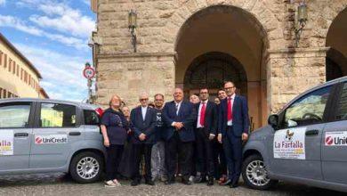 Photo of Due nuove auto per La Farfalla di Grosseto grazie a Carta Etica UniCredit