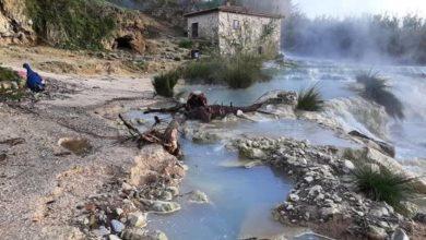 """Photo of Alluvione, sopralluogo del Comune: """"Nessun danno alle cascate del Gorello"""""""