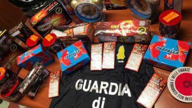 Photo of La Guardia di Finanza scopre un magazzino pieno di fuochi artificiali illegali: denunciato il proprietario