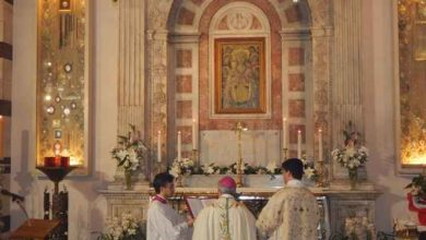 """Photo of Celebrata la Madonna delle Grazie, l'appello del vescovo: """"Costruiamo un bene maggiore"""""""