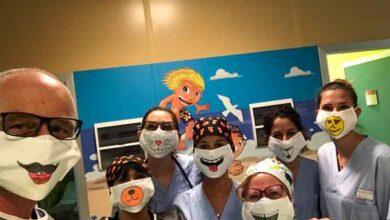 Photo of Donate da Abio le baby mascherine per i bambini in pediatria