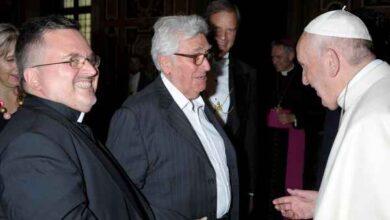 Photo of Il vicario della diocesi don Paolo Gentili festeggia 25 anni di sacerdozio